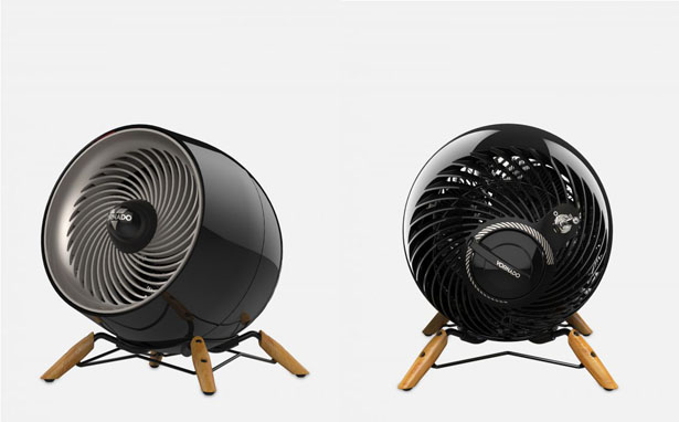 Vornado Glide Room Heater Looks Like Cool, Small Creature in The Room