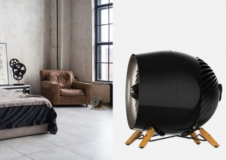 Vornado Glide Heat Room Heater Looks Like a Cool, Small Creature in The Room