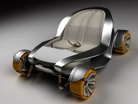 vortex compact car concept for big cities