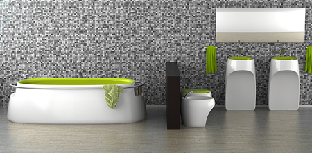vostok bathroom design concept