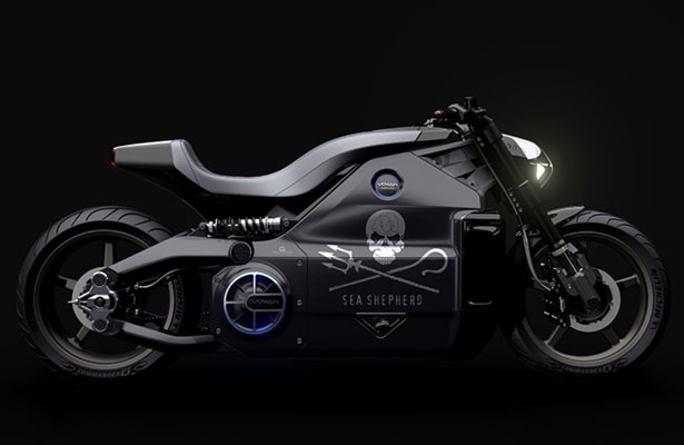 Voxan Electric Motorcycle