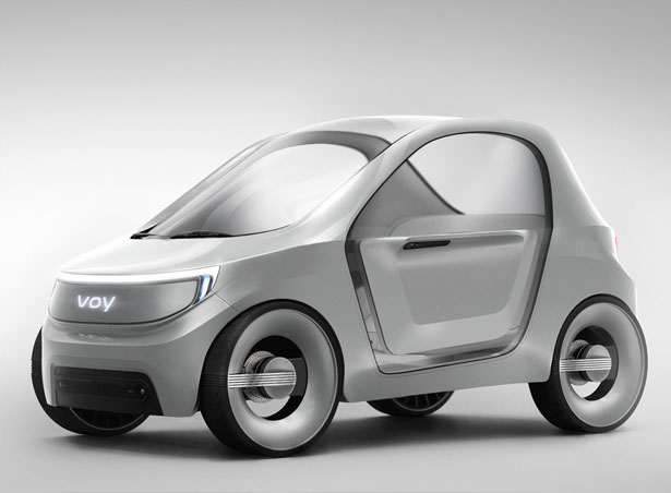 VOY Electric Taxi for Big City by Kwanjun Ryu