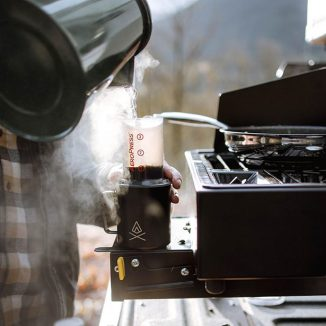 AeroPress Go – Compact and Ultralight Coffee Brewer for Your Camping Companion