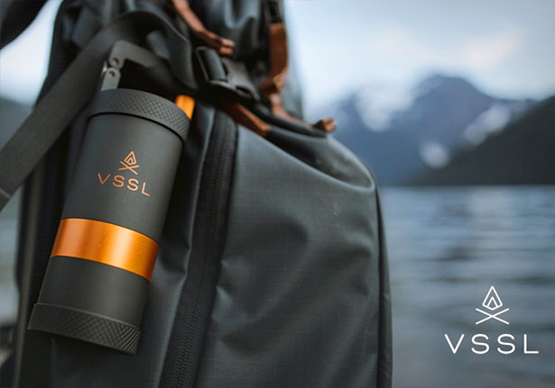 VSSL Java - Portable Coffee Grinder with Aircraft-Grade Aluminum Body