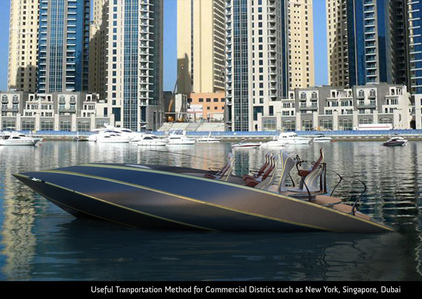 VT36 is 36 Feet Speedy Yacht for Business Transportation