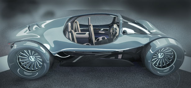 Vultran Solair Modular Electric Concept Car Features Swappable Body