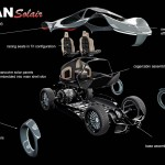 Vultran Solair Modular Electric Concept Car by Lee rosario