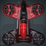 Vultran Tyger 1: hybrid Piloted Drone by Lee Rosario