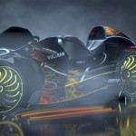 Inspired by Lamborghini and Porsche, Vultran Type 3 Electric Concept Motorcycle Features Aggressive Design