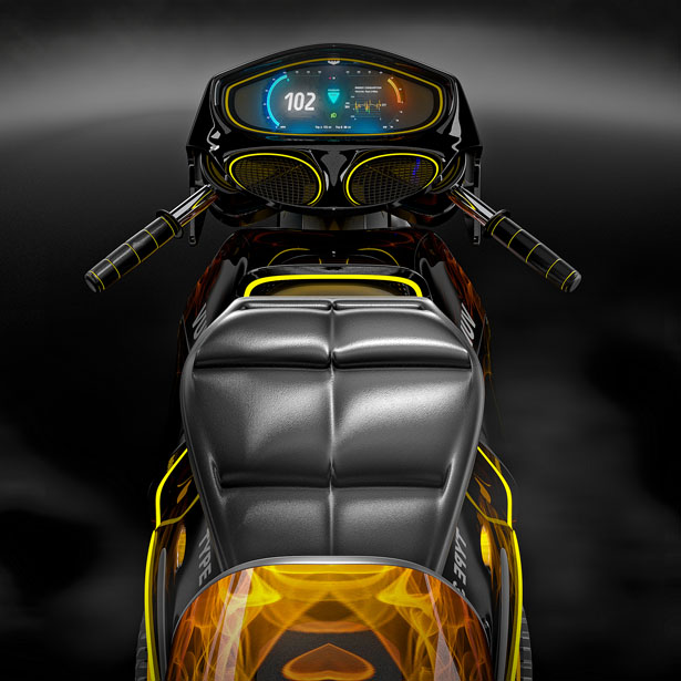Vultran Type 3 Electric Motorcycle by Lee Rosario