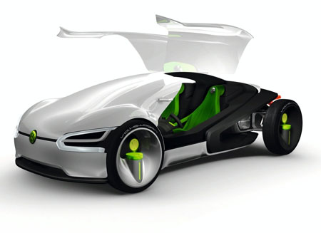 Electric  Photo on Futuristic Volkswagen Ego Car Concept For 2028   Tuvie