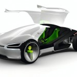 Futuristic Volkswagen Ego Car Concept for 2028