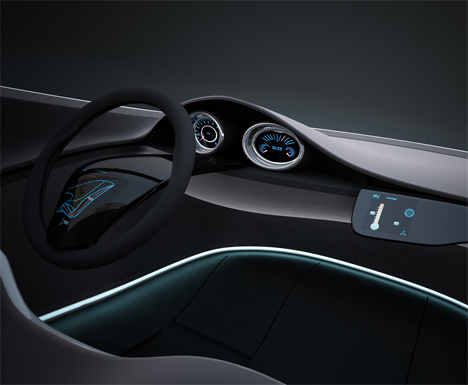 Vw Einsplus Interior Design Concept For 2020 Future Technology