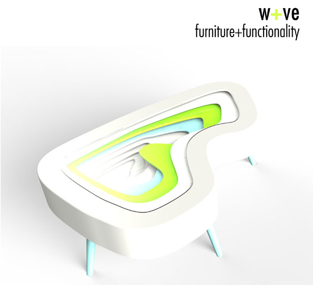 W+VE Furniture with Functionality by Subinay Malhotra