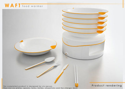 Waft Food Warmer Concept