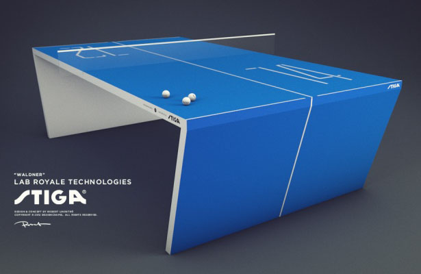Waldner The Next Generation Ping Pong Table By Robert