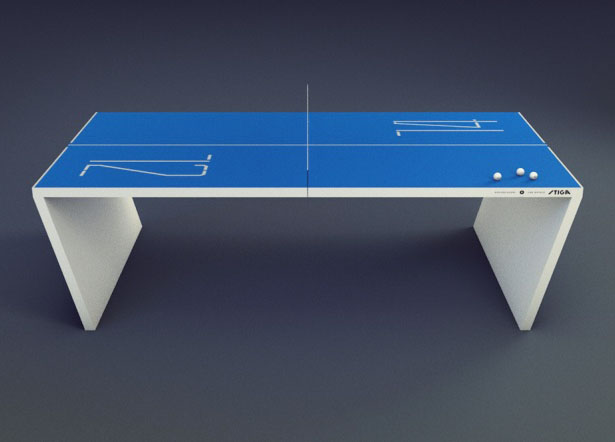 Waldner : The Next Generation Ping Pong Table by Robert Lindstrom