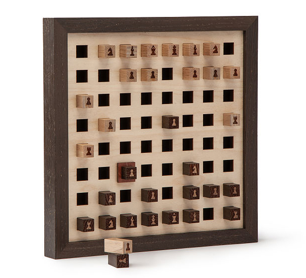 Wall Chess - a Wall Decoration and a Board Game in One