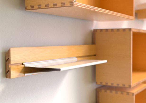 Wallace Modular Shelving by SWENYO