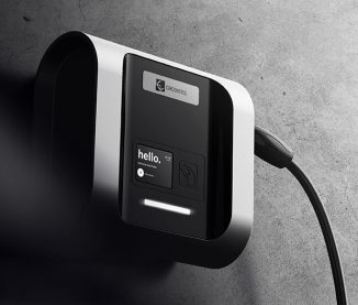 Wallbox eNext – Electric Vehicle (EV) Charger Concept That Simplifies The Charging Process Through App Identification