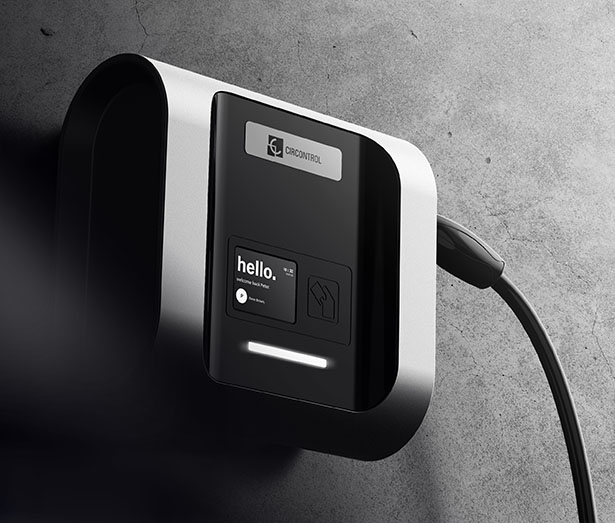Wallbox eNext - Electric Vehicle (EV) Charger Concept by Lucid Design Agency