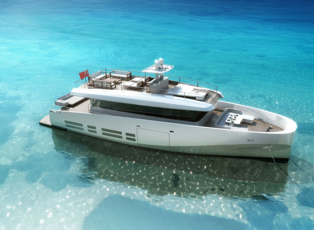 Wally Ace Motor Yacht Features Luxurious Accommodations and Smooth Ride for Its Passengers