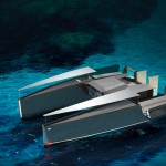 Powercat 115 Yacht Features 3-Body-Design for Smooth Turn Even at High Speed