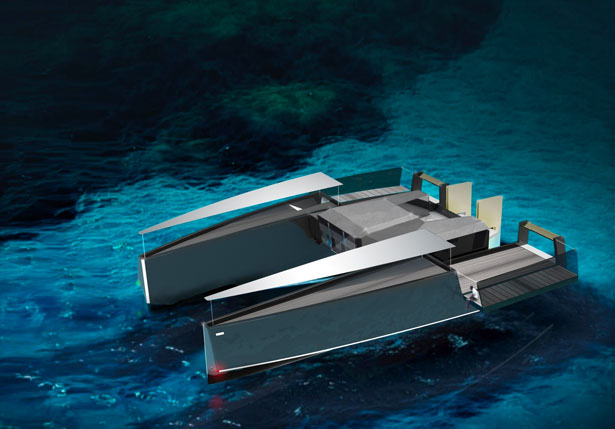 Wally Powercat 115 Yacht by John Badalamenti