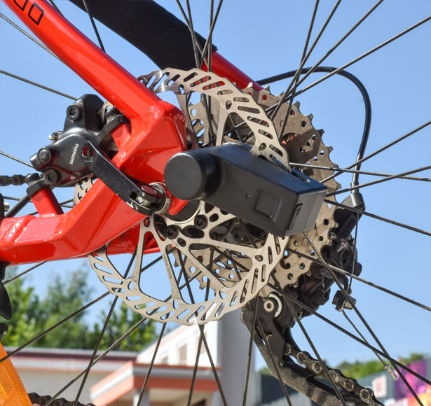 WALSUN - Fingerprint Disc Lock for Your Bike and More