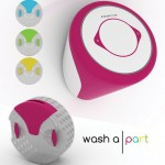 Washa part : Futuristic Wall Mounted Washing Machine by Buse Ustun and Fulya Pekserbes