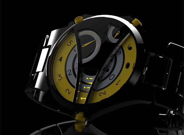 Watch Concept by Shea Draney