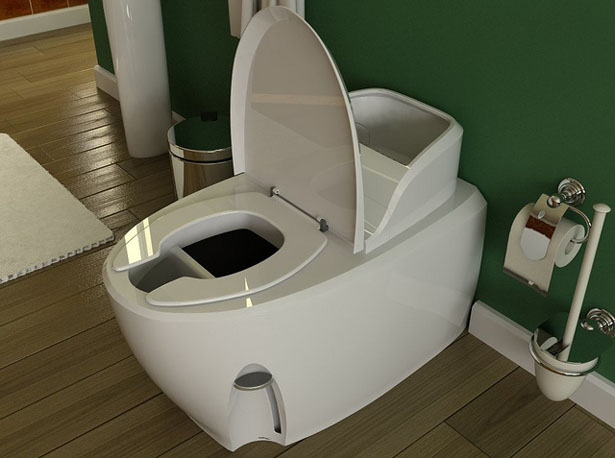 Waterless Toilet Concept