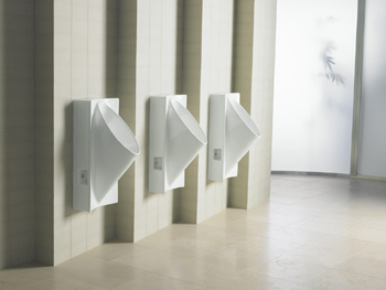 Waterless Urinal From Kohler Avoid Splashing