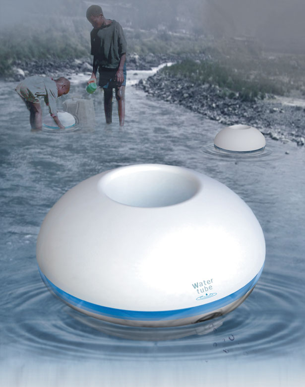 Watertube Create and Store Drinking Water Container