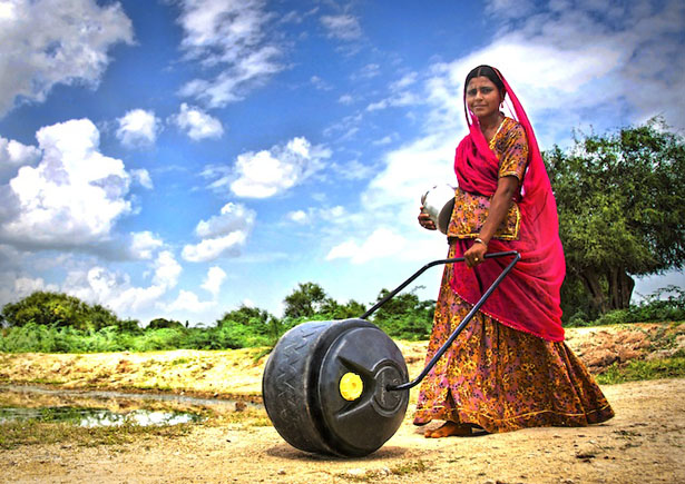 WaterWheel Water Carrier by Welo Water