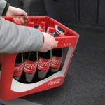 Wave Coca Cola Bottle Reusable Crate Design by ENTWURFREICH