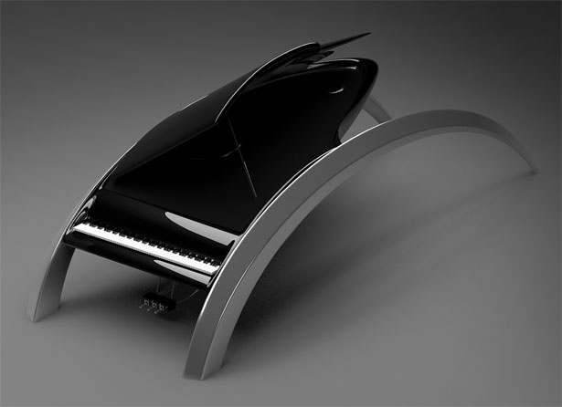 Wave Piano by Apostol Tnokovski