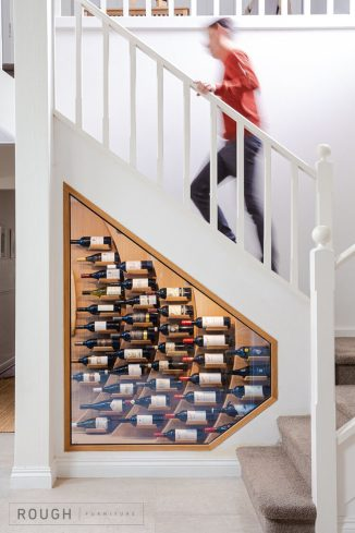 Wave-Rack – Modern Wine Rack to Display Your Wine Collection in Style