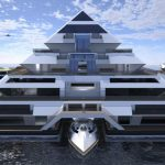 WAYA : A Modular Floating Building for Future Offshore Living Experience by Lazzarini Design