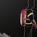 Wearable Extinguisher Allows Firemen to Work More Efficiently