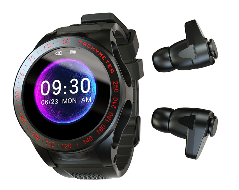 Wearbuds Watch - A Cool Smartwatch with Built-In Earbuds