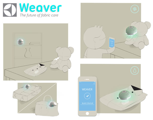 Weaver Fabric Care by Larissa Trindade
