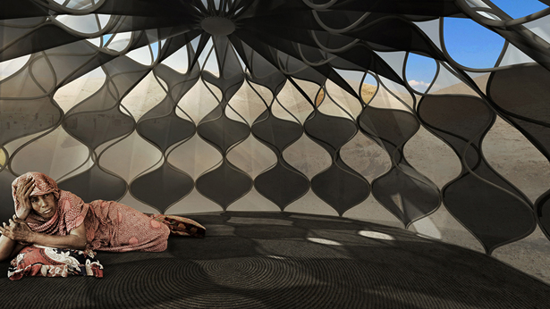 Weaving A Home by Abeer Seikaly