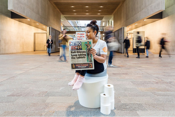 Wellbeing Toilet - Next Generation Toilet Enhances Your Body Position for Proper Elimination