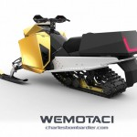 Wemotaci Concept Snowmobile That Burns Hydrogen Instead of Gasoline