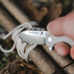 WESN Titanium Pocket Knife Offers Versatility of A Full Size Knife in Micro Size