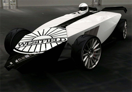 Westfield iRACER Car Can Evade Gravity
