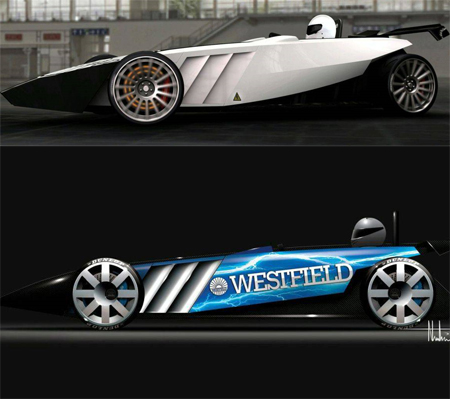 westfiled iracer car