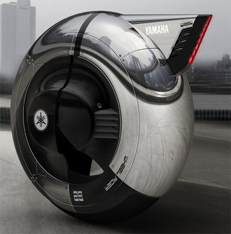 Wheel Rider Personal Commute Concept for Yamaha