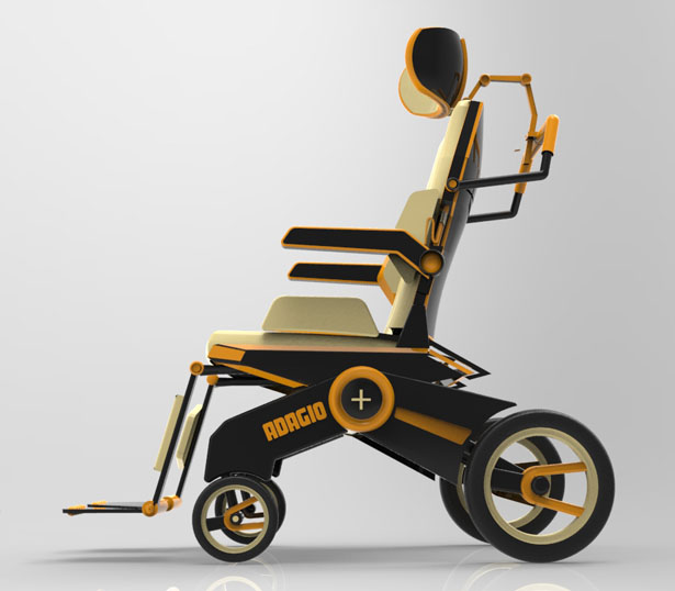 Wheelchair Adagio+ by Akram Ben Amor